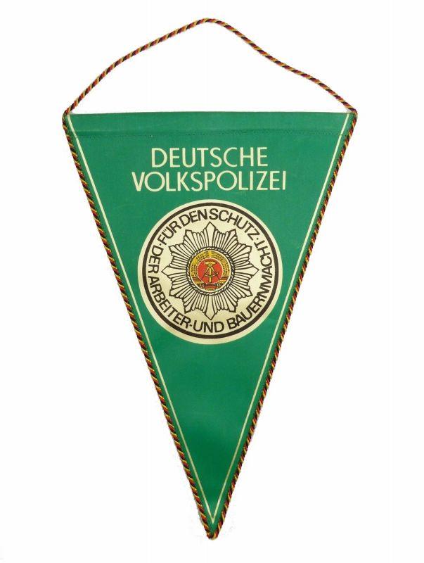 #e6061 Original alter DDR Wimpel Deutsche Volkspolizei DVP