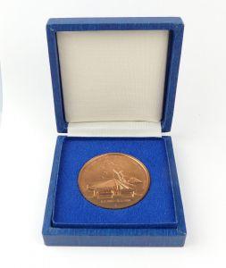 E10149 Medaille Generalreparatur der Eisenbahnbrücke über den Strelasund 1990