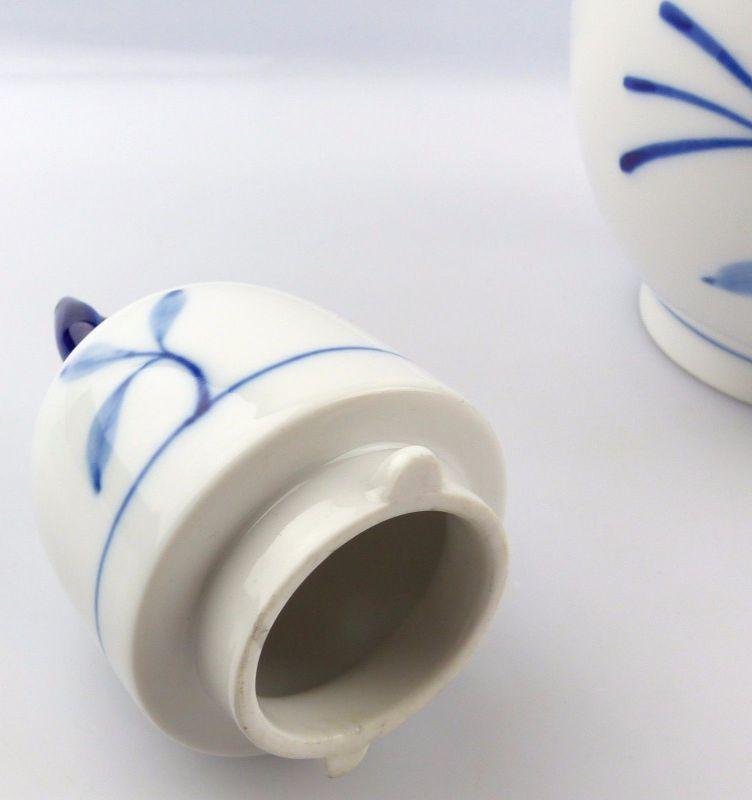 #e5253 Meissen Kaffeekanne 1. Wahl Robinie Kobaltblau Sonderedition 2000 3