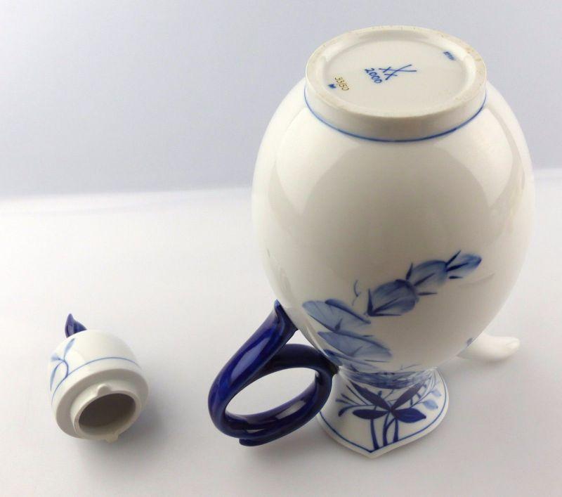 #e5253 Meissen Kaffeekanne 1. Wahl Robinie Kobaltblau Sonderedition 2000 4