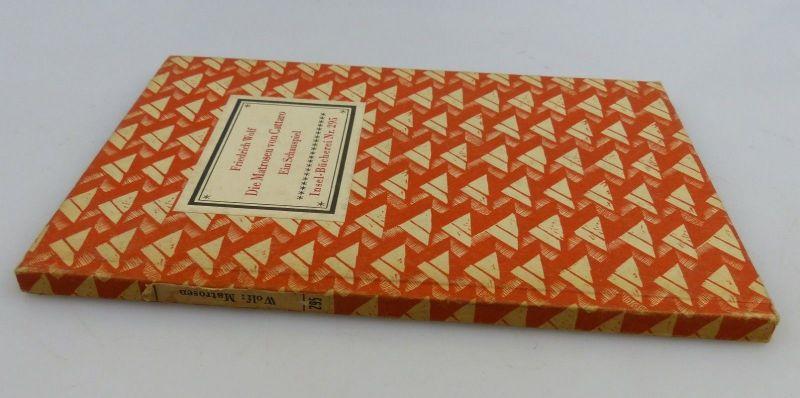 Insel Bücherei: Inselbuch Nr.295 Die Matrosen von Cattaro Friedrich Wolf bu0524 2