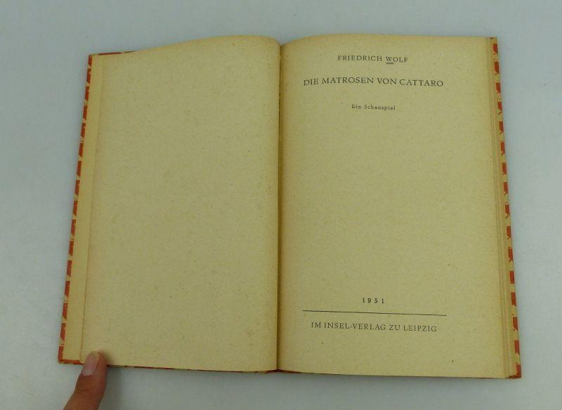 Insel Bücherei: Inselbuch Nr.295 Die Matrosen von Cattaro Friedrich Wolf bu0524 4