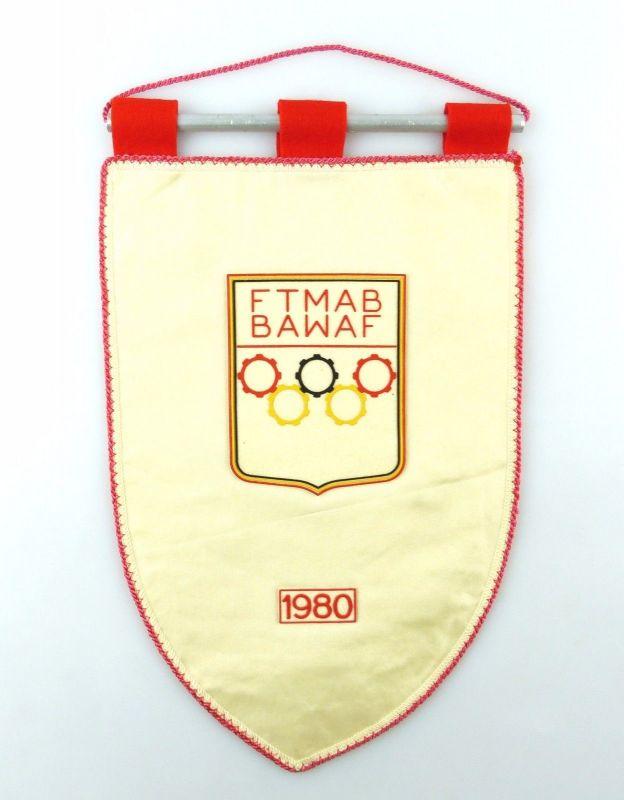 #e6358 Original alter Wimpel FTMAB BAWAF 1980