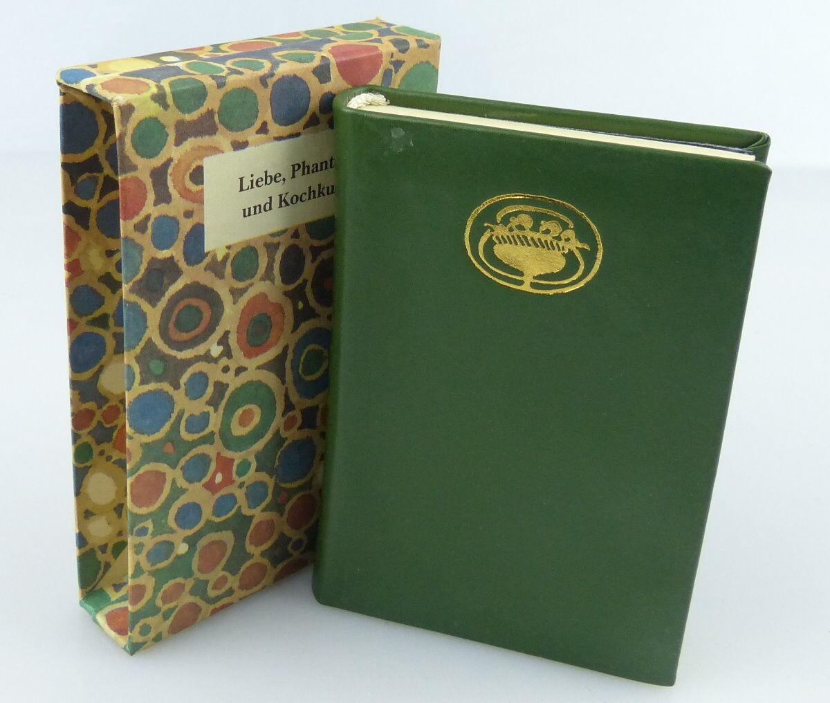 Minibuch : Liebe,Phantasie und Kochkunst, Berliner Verlag 1986 / r145