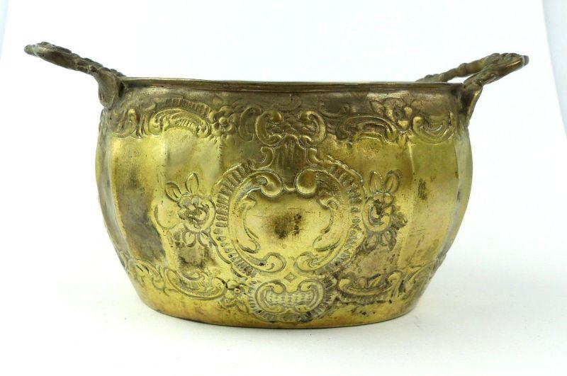 E10190 Sehr dekorative Zuckerschale aus 800er Silber Halbmond und Krone 2