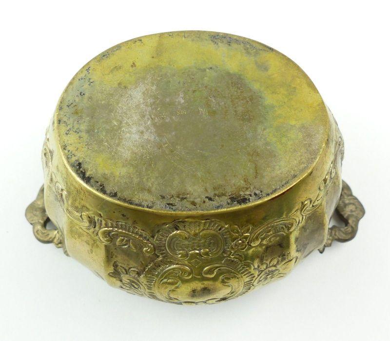 E10190 Sehr dekorative Zuckerschale aus 800er Silber Halbmond und Krone 6