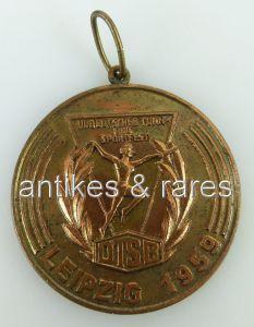 Bronze Medaille: III. Deutsches Turn- & Sportfest Leipzig 1959 DTSB