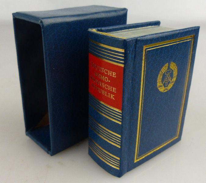 Minibuch: Deutsche Demokratische Republik Verlag Zeit im Bild Buch1599