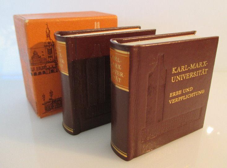 Minibuch: Karl-Marx-Universität Erbe und Verpflichtung bu0184