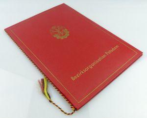 2 Urkunden: Schießwettbewerb goldene Fahrkarte 1976 im MfAA, Für akti, Orden1891