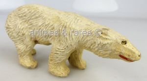 Altes Elastolin Tier: Eisbär (linol128)