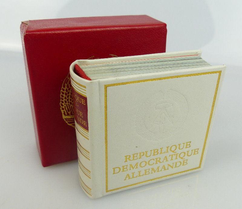 Minibuch Demokratische Republik Deutschland auf französischer Sprache bu0758