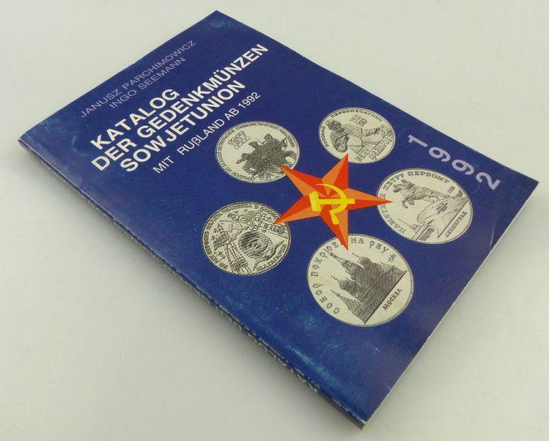 Katalog: der Gedenkmünzen Sowjetunion mit Rußland ab 1992, Janusz Parchimowicz