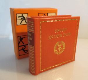 Minibuch: Sport in der DDR Verlag Zeit im Bild Dresden 1980 bu0159