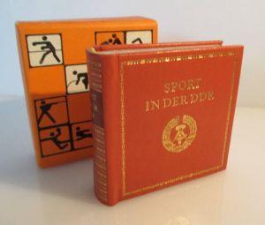 Minibuch: Sport in der DDR Verlag Zeit im Bild Dresden 1980 bu0158