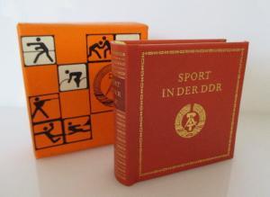 Minibuch: Sport in der DDR Verlag Zeit im Bild Dresden 1980 bu0157
