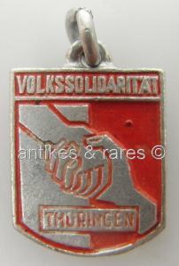 DDR Abzeichen Volkssolidarität Thüringen