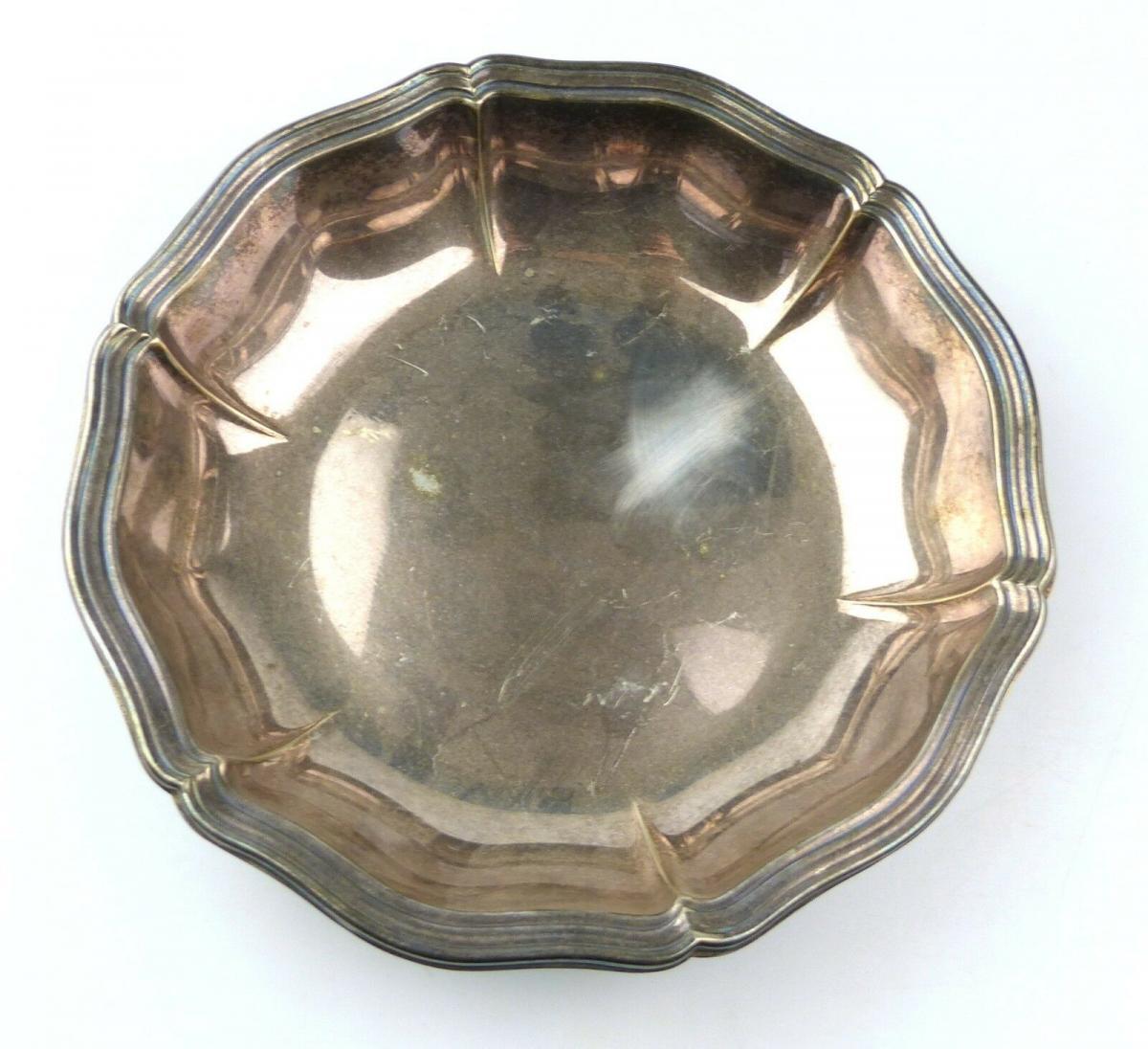 E10384 Wunderschöne große Schale aus 835er Silber WTB