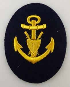 Aufnäher: Seestreitkräfte Volksmarine Maat / Militärjustizorgane, Orden2881