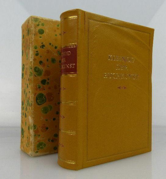Minibuch Kleinod der Buchkunst VEB Fachbuchverlag Leipzig bu0308