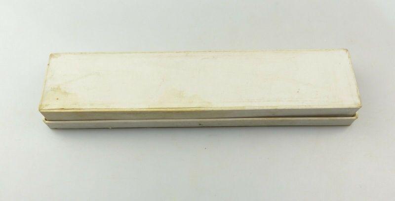 E10052 Versilberter Jugendstil Tortenheber in OVP 90er Silberauflage 11