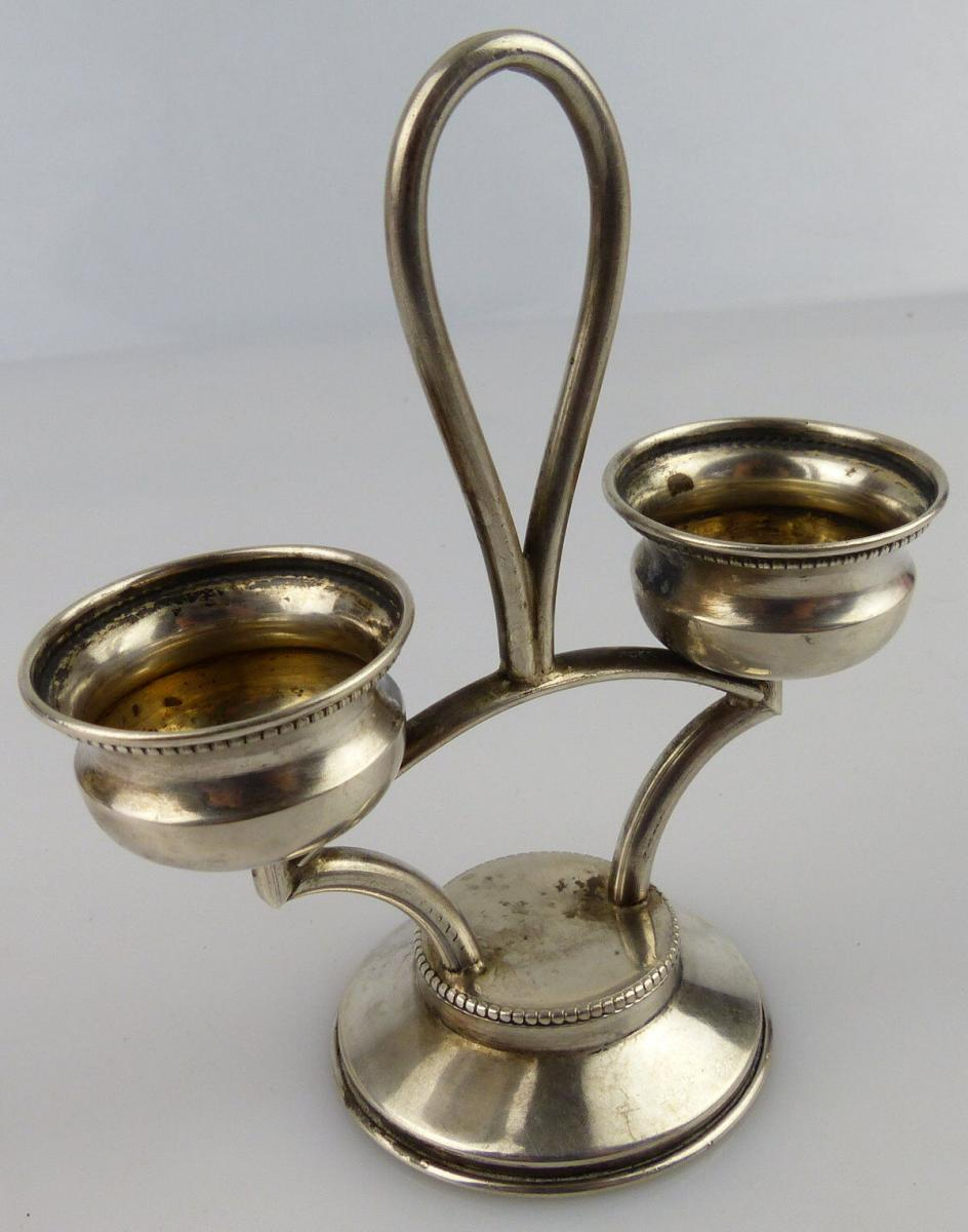 Etagere Polnisch in 800 (Ag) Silber ca. 61 g norb835