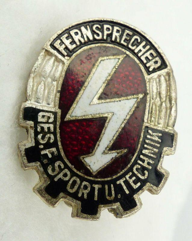 GST655b vgl. Band VII Nr. 655b in Silber Fernsprech Leistungsabzeichen 1958-1964