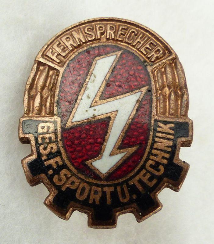 GST656c vgl. Band VII Nr. 656c in Bronze Fernsprech Leistungsabzeichen 1958-1964