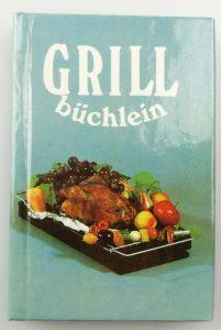 E10404 DDR Minibuch Grillbüchlein Rezepte für kleine Feste 1 Auflage 1987