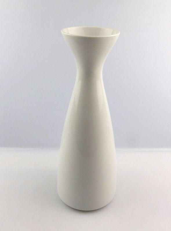 #e5232 Große Wallendorf Porzellan Vase weiß zeitlos schön
