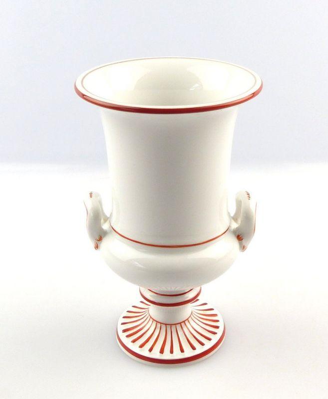 #e3952 Meissen Porzellan Blumenvase Vase Henkelvase 1. Wahl Höhe ca. 13 cm