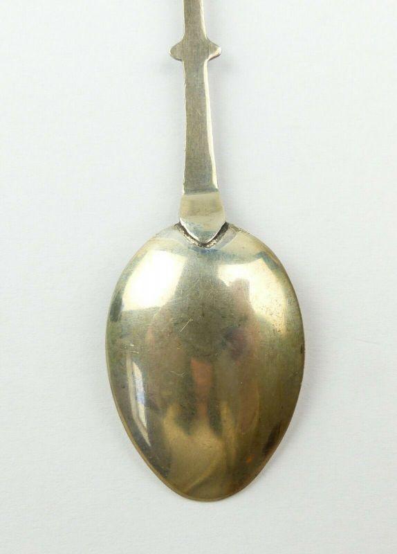 E10522 Alter Sammlerlöffel mit Wappen Preußisch Oldendorf aus 800 Silber 5