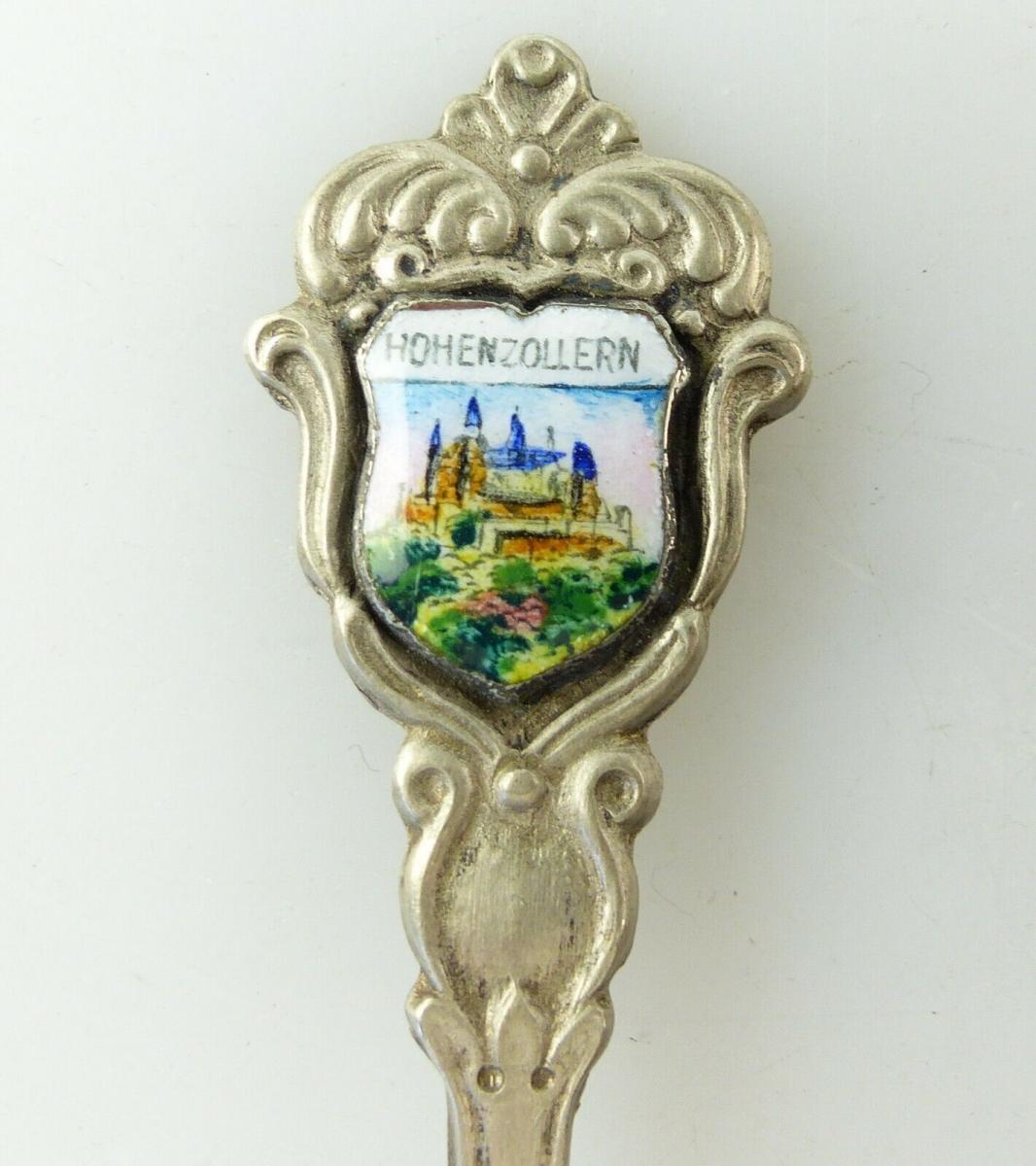 E10520 Alter Wappenlöffel aus 800 Silber Hohenzollern 1