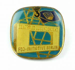 E10477 DDR Abzeichen Pin Zentrales Jugendobjekt FDJ Initiative