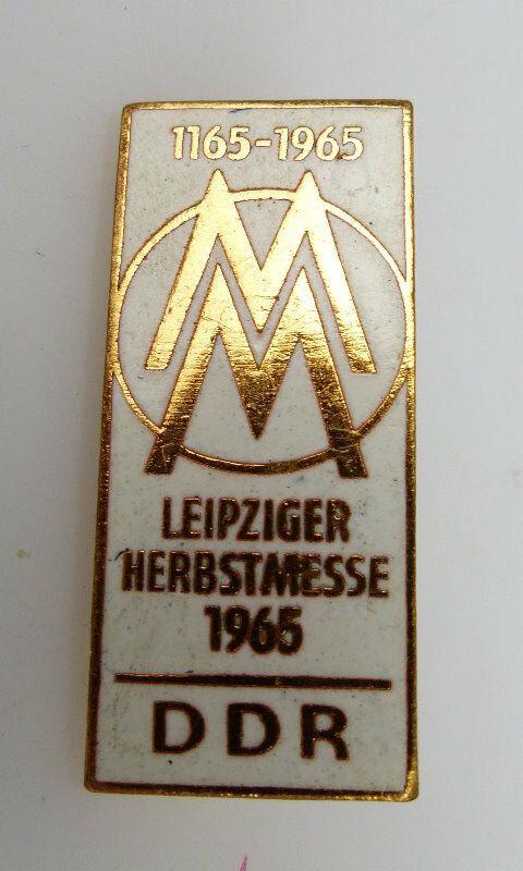 Abzeichen: 1165-1965 MM Leipziger Herbstmesse 1965 DDR bu0792