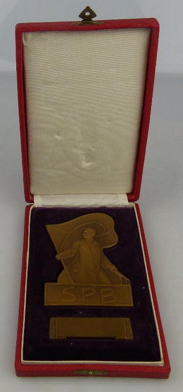 Bronze Medaille im Etui: SPB, Orden1511