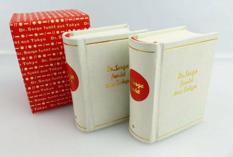 2 Minibücher: Dr. Sorge funkt aus Tokyo Dr. Richard Sorge e298