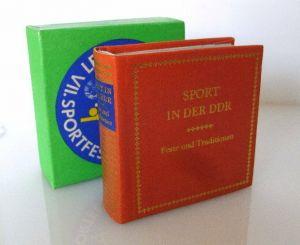 Minibuch: Sport in der DDR Feste und Traditionen bu 0035