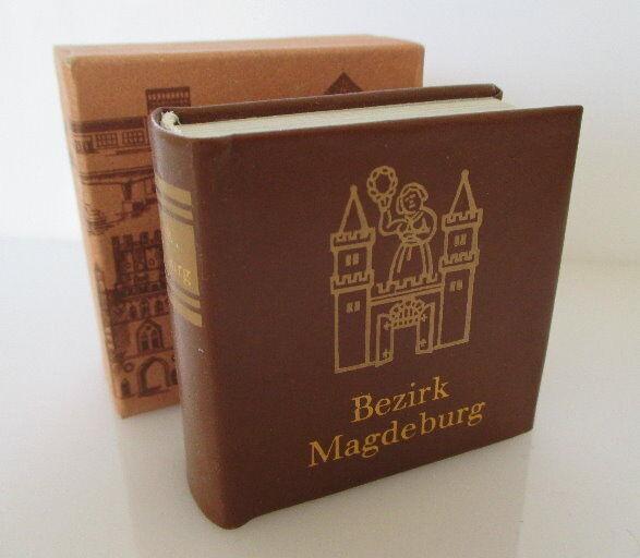 Minibuch Bezirk Magdeburg Verlag Zeit im Bild Dresden bu0155