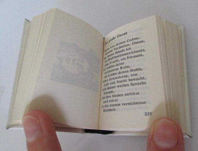 Minibuch Pablo Neruda Gedichte Mit Danksagung Innenliegend