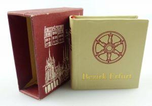 Minibuch : Bezirk Erfurt, Verlag Zeit im Bild Dresden 1986  / r615