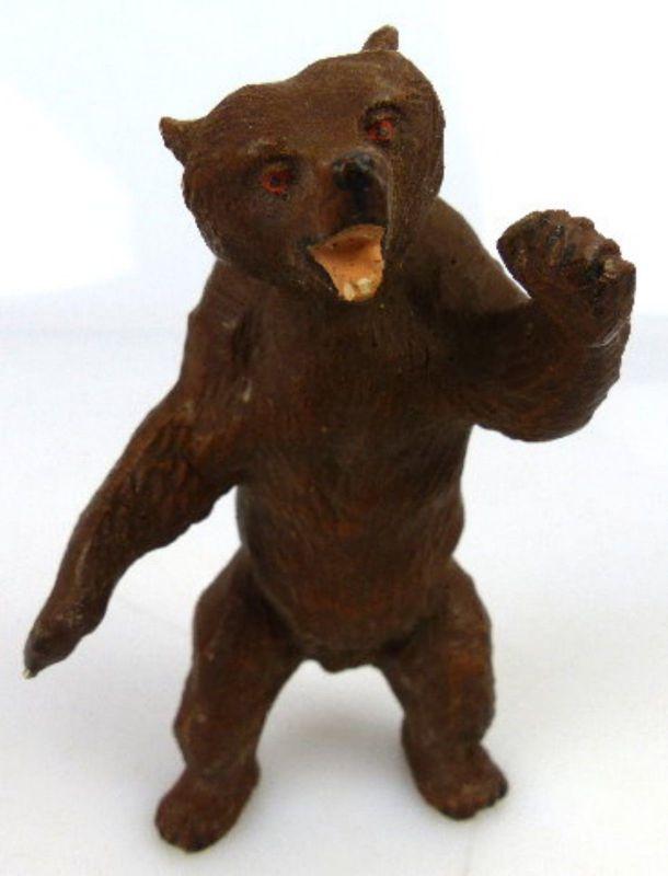 Altes Masse Lineol Tier: stehender Bär