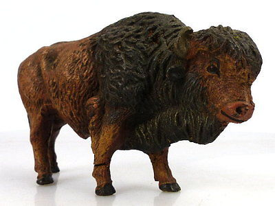 Altes Masse Lineol Tier: Büffel / Bison