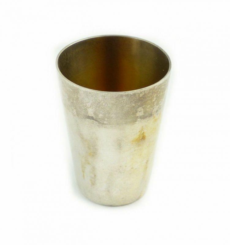 #e6726 Original alter Schnapsbecher / Wodkabecher 800 (Ag) Silber 17,7 g WTB
