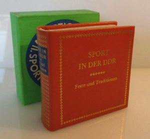Minibuch: Sport in der DDR Feste und Traditionen bu0092