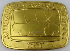 DDR GST Medaille Automodellsportklub der DDR (GST0583)