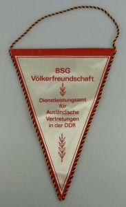 Wimpel: BSG Völkerfreundschaft, Dienstleistungsamt für ausländische Vertretungen