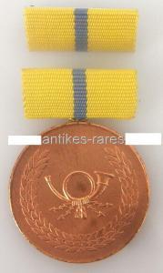 DDR Verdienstmedaille der Deutschen Post in Bronze