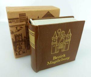 Minibuch: Bezirk Magdeburg Verlag Zeit im Bild Dresden 1984 bu0774