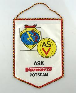 E10816 Alter Wimpel ASV ASK Vorwärts Potsdam DDR